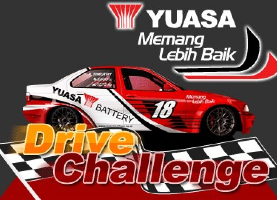 BAGI-BAGI HADIAH KEREN DARI YUASA, YUK IKUTI YUASA DRIVE CHALLENGE 2012