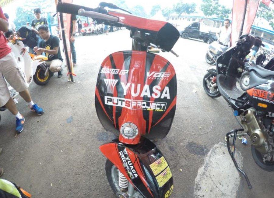 Motor Tim Balap Yuasa-PutsProject Juarai Kelas Bergengsi