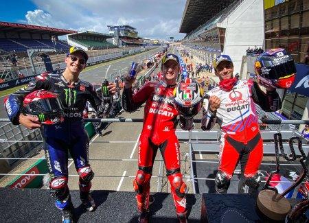 MotoGP Prancis 2021 Berlangsung Penuh Drama & Crash