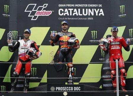 Miguel Oliveira Juara & Kontroversi Jaket Balap Quartararo Di MotoGP Catalunya 2021