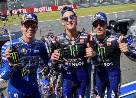 Yamaha Mendominasi Posisi Teratas MotoGP Belanda 2021