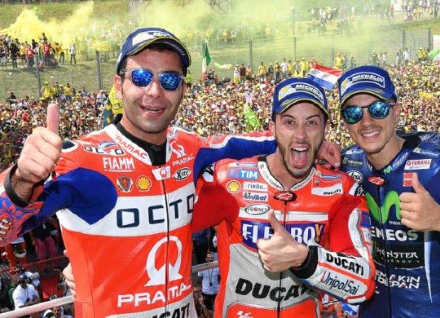 Kemenangan Perdana Tim Ducati Di Musim MotoGP 2017