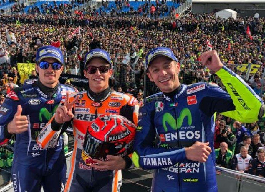 Persaingan Ketat MotoGP Australia 2017