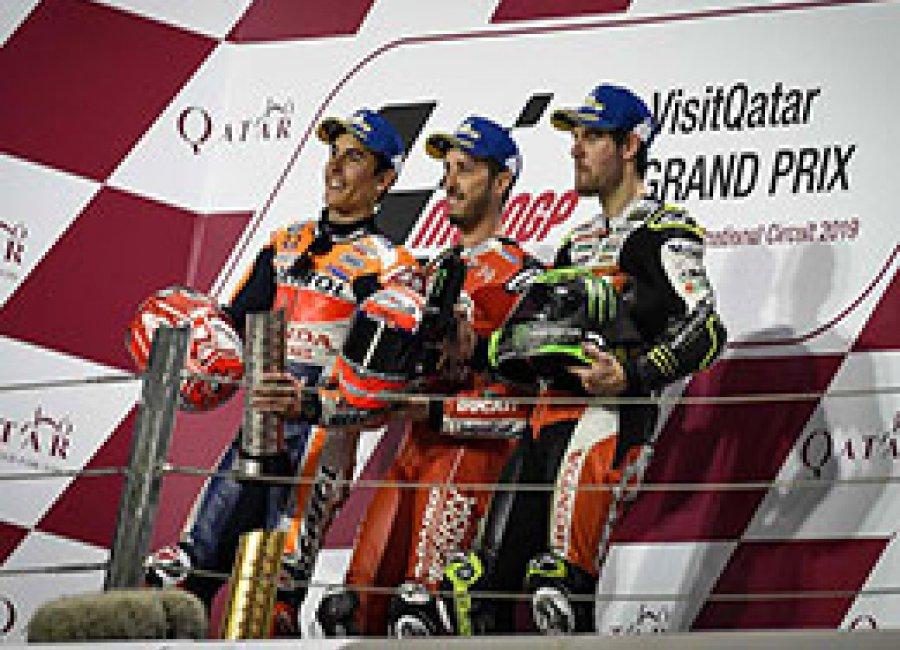 Pertarungan Sengit Dovizioso & Marquez Di Pembukaan Musim MotoGP 2019