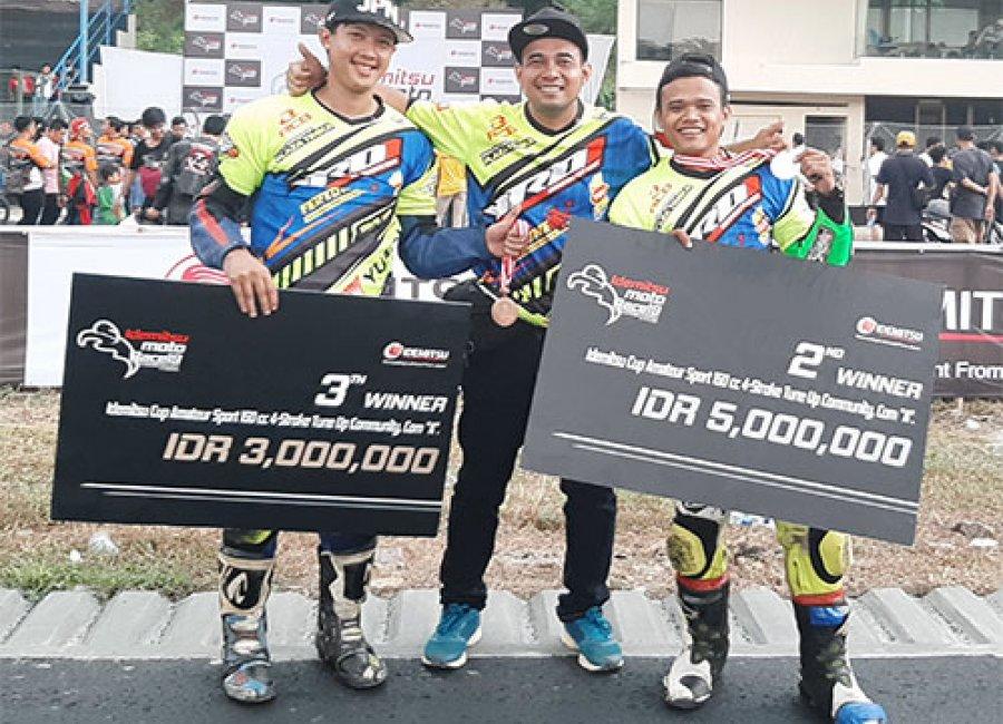 YROI Batik Yuasa RCB Fertone MX MP1 Top1 Racing Team Raih Dua Gelar Juara