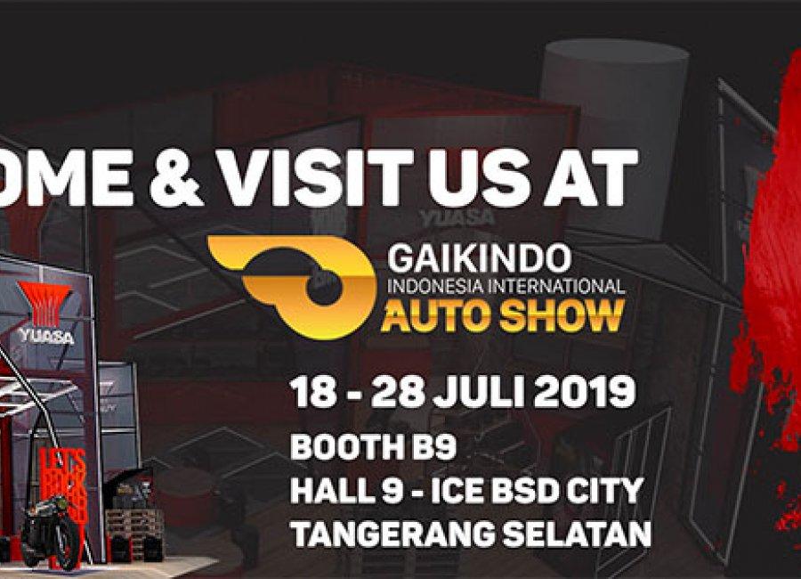 Yuasa Battery Kembali Ramaikan GIIAS Jakarta 2019