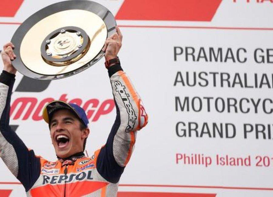 Manuver Dramatis Membawa Juara 'The Baby Alien' Di MotoGP Australia 2019