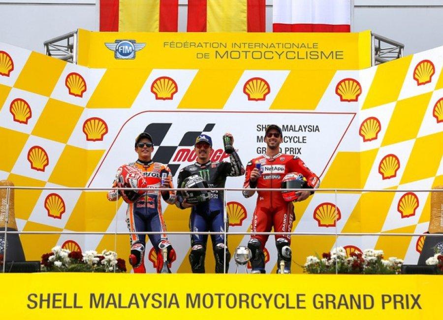 Strategi Start Yang Ampuh, Vinalles Buktikan Kemampuannya Di MotoGP Malaysia 2019