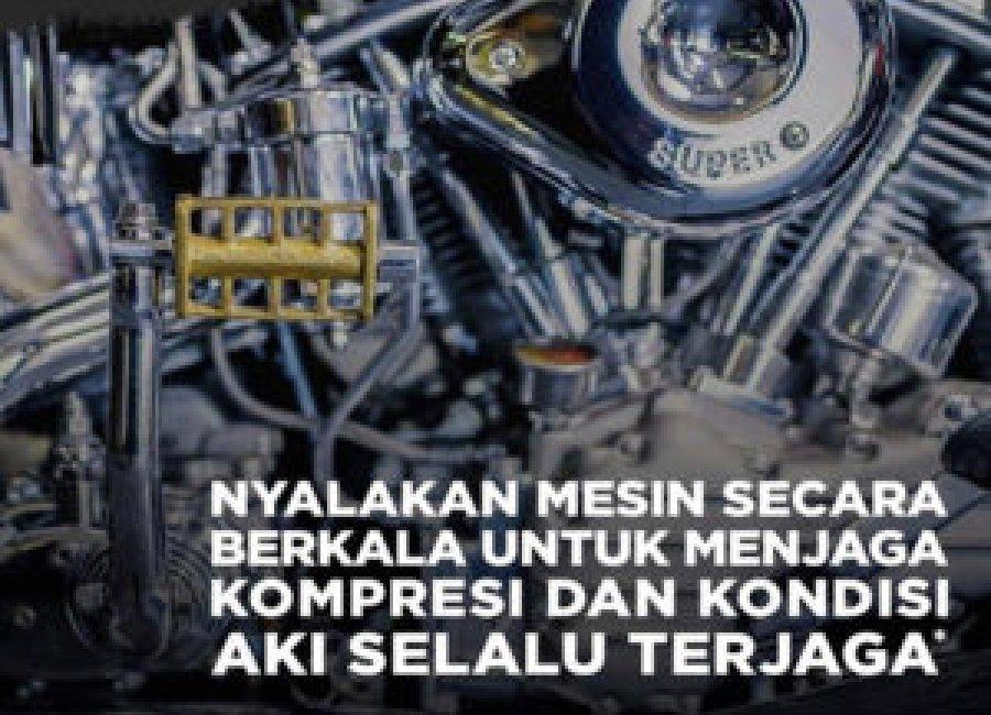 TIPS MUDAH MERAWAT AKI MOTOR DI MASA PSBB