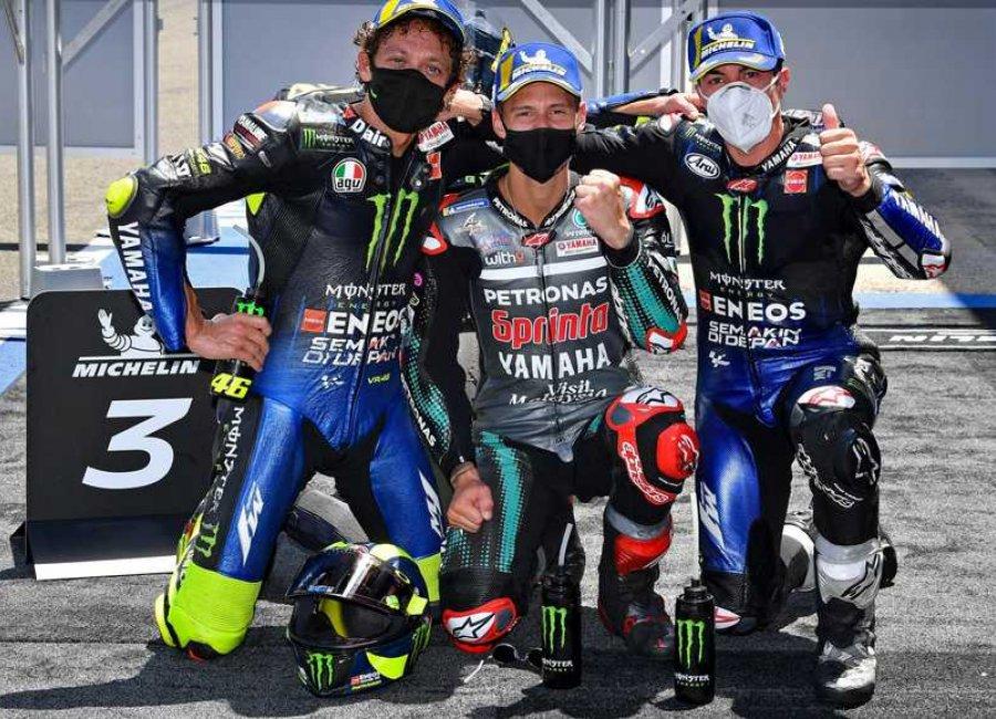 Hasil MotoGP Andalusia, Fabio Quartararo Kembali Juara